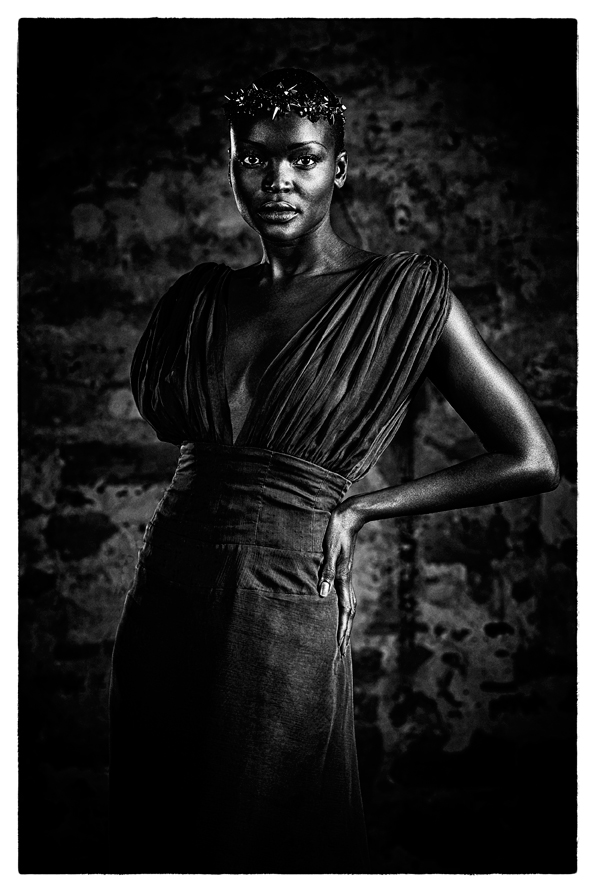 Miriam Odemba by Jean Christophe Lagarde Photographe de mode Paris - Fashion photographer